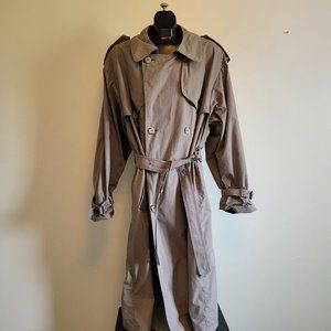 London Fog Lined Iconic Trench Coat
